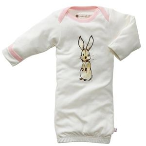 Baby Soy Janey Baby Gown - Rabbit
